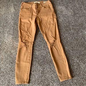 Bullhead tan jeans size 26